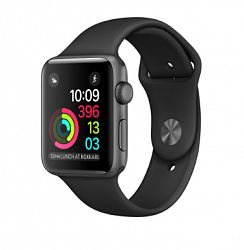 Смарт-часы Apple Watch Series 2 38mm (MP0D2) (Space Gray Aluminum Case with Black Sport Band)