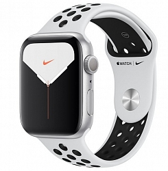 Смарт-часы Apple Watch Nike Series 5 GPS 40mm (MX3R2) Silver Aluminum Case with Pure Platinum/Black Nike Sport Band
