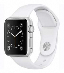 Смарт-часы Apple Watch Series 1 38mm with Sport Band (MNNG2) White
