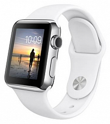 Смарт-часы Apple Watch 38mm with Sport Band (MJ302) Silver